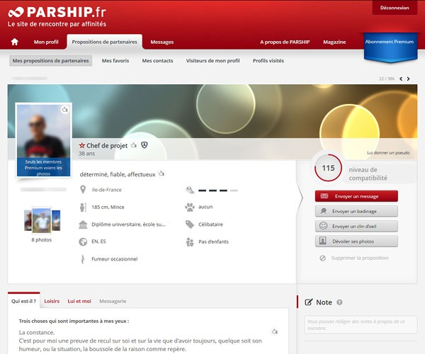 profil parship