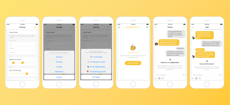 bumble application de rencontre
