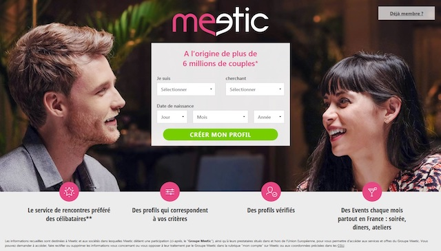prix Meetic