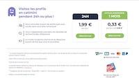 Option incognito sur Disons Demain à 1,99€